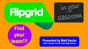 Flipgrid for Math